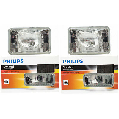 Philips High Beam Headlight Light Bulb - 1975-1990 Oldsmobile 98 Calais bj