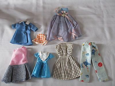 Vintage Lot Of Tammy Skipper Clothes 7 Pieces