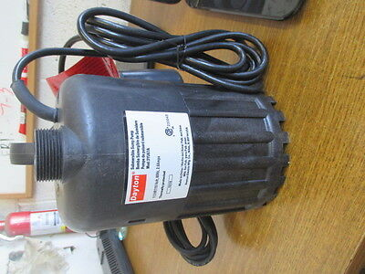 New Dayton Submersible Sump Pump 3Yu67A