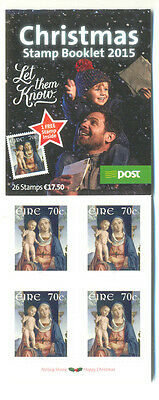Ireland-Christmas booklet mnh 2015 complete