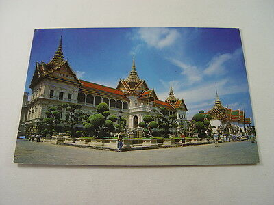TOP7788 - Postcard - Royal Grand Palace Chakri & Dusit Maha Prasadh Throne Halls
