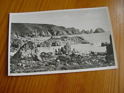 TOP2010 - Real Photo Postcard - Moulin Huet, Guernsey