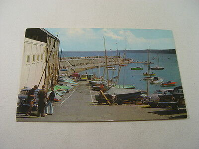 TOP9542 - Postcard - The Jetty and Harbour, New Quay 1973