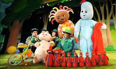 In the Night Garden Live tickets + Meet Upsy Daisy! 2 adults, 1 child. Richmond.