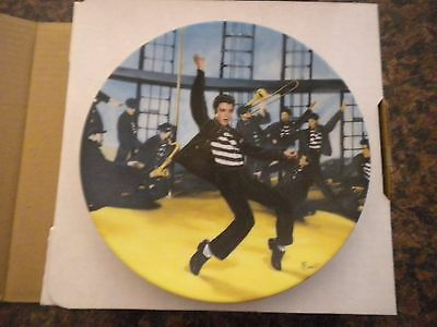 "Elvis Presley 9"" Plate ""jailhouse Rock"" New In Box Authentic Collectible"