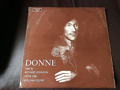DONNE free postage MAYBE UNPLAYED, LOVELY CONDITION WITH BOOKLET, ARGO RG403
