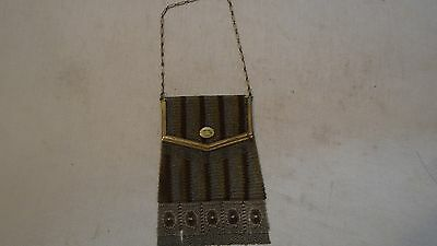 vintage Fine Mesh Art Deco Bag Whiting and Davis Princess Mary FREE SHIPPING