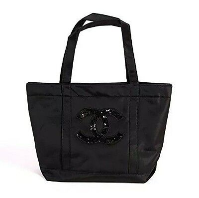 Chanel Precision Sequin Shopping Tote Bag Vip Gift