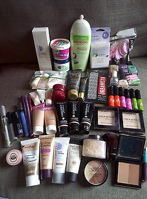 Bundle cosmetics, skincare, make up, most new, Avon, Bourjois, Clarins, Almay