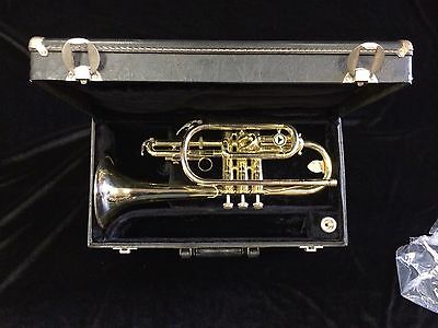 NICE Holton Cornet C602RC Cleaned and Serviced Bach Mouthpiece