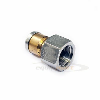 "3/8"" female Drain Sewer Cleaning  Rotating LASER Nozzle Jet 050 3 Rear 1 forward"