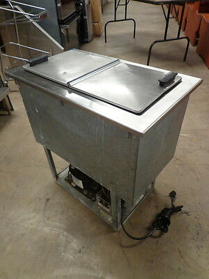 Delfield 6-Gallon Drop In Ice Cream Dipping Cabinet Freezer.
