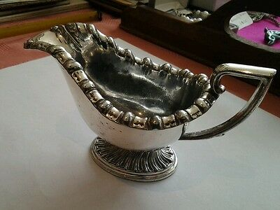 Nice Silver Plated Sauce Boat