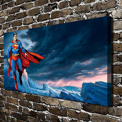 """16""""x28""""Superman Posters HD Canvas Print 16""""x28"""" Home Decor Paintings Wall Art"""