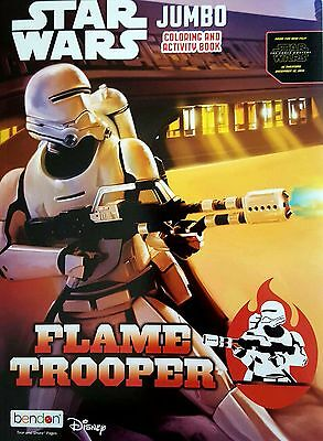 NEW Star Wars Color & Activity Book Troopers Puzzles Games Boys R2-D2 C3PO Kids