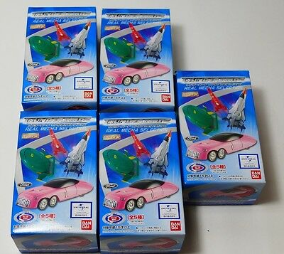 Thunderbirds Real Mecha Selection Complete set of 5 based on Movie from Japan.
