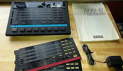 Korg DDD-5/1 Dynamic Drum-Computer/Machine 2x Sound Card Brushing Latin Tango