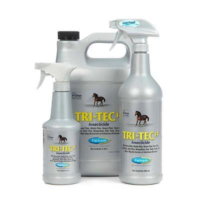 Farnam tri-tec 14 super powerful horse fly/insect repellent insecticide spray