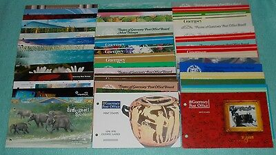 Guernsey Mint Stamp Presentation Packs Issues 1973-2013 - Select Individual Pack
