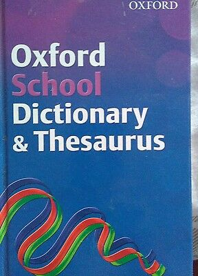 oxford shool dictionary & thesaurus