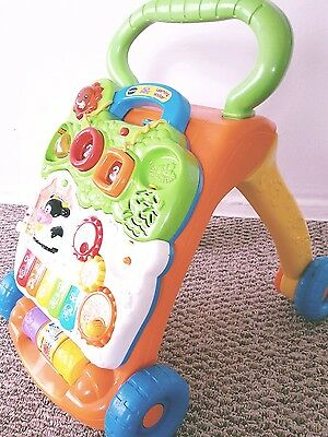 Baby musical activity & sit to stand learning walker !!