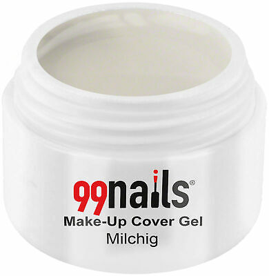 UV GEL Make-Up Cover Gel - Milchig 15ml Camouflage Gel Make Up Made in Germany !