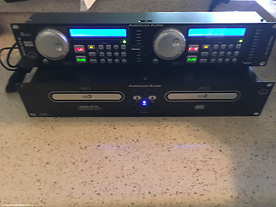 American Audio MCD-510 Professional Dual MP3 Compact Disc Player