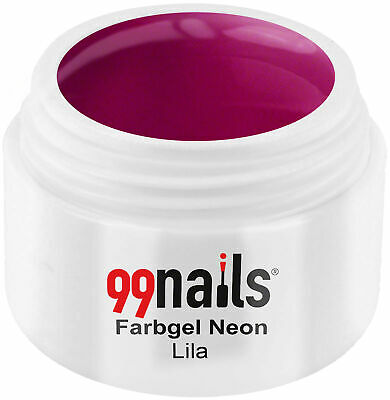 UV GEL Farbgel Neon - Lila 5ml / UV LED Color Gel Nails ! Made in Germany !
