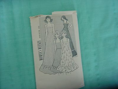 """Vintage 1960's   sundress  and top & skirt pattern 12 (34"""")"""