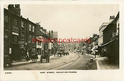 Real Photographic Postcard Hart Street, Henley-On-Thames, Oxfordshire, W H Smith