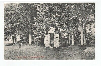 Postcard. Popes Seat Cirencester Park