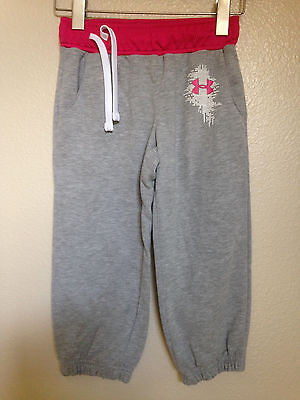 Under Armour Girls Youth Medium Sweatpants 16 inches long
