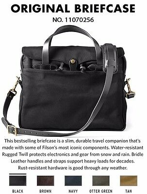 "NEW Filson Original Briefcase Laptop Bag 15""  11070256 Chose Color"