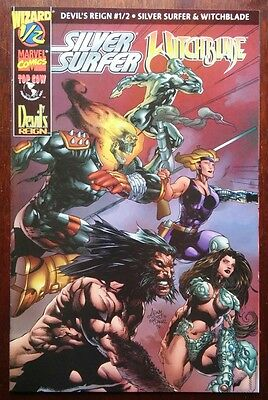Devil's Reign #1/2 Witchblade Silver Surfer 1997 Wizard Top Cow Marvel VF/NM COA