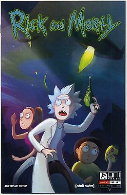 RICK AND MORTY #1 First Print Four Color Grails Mail Order VARIANT Rare HTF NM