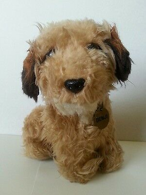 "Vintage Dakin BENJI Dog 9"" Plush w/ Metal Tag Mulberry Square 1978 Korea"