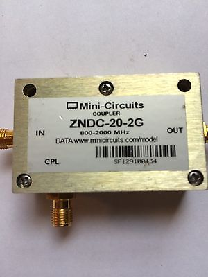 Mini-Circuits ZNDC-20-2G Directional coupler  -20dbm coupled port
