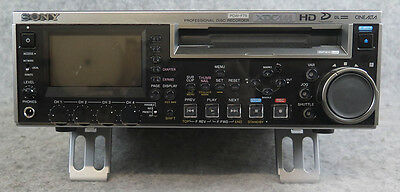 Sony PDW-F75 XDCAM HD Recorder with PDBK-104 SD/SDI Option Board