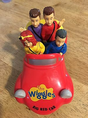 Wiggles Bump N' Go Big Red Car Toy with sound and motion 2013 Emma