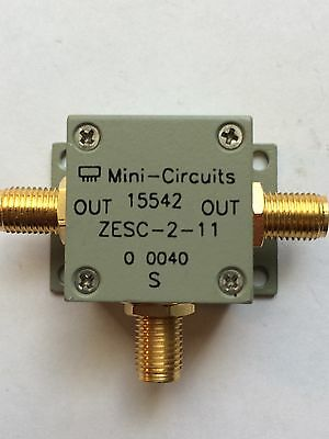 MIni Circuits RF Power Splitter/combiner 2 way10Mhz-2GHz ZESC-2-11
