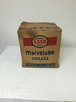 Imperial Esso Products Marvelube cardboard box