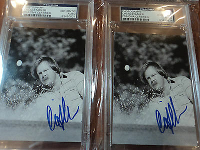 """CRAIG STADLER """" Masters Winner """" Signed Photograph - PSA DNA CERTIFIED AUTHENTIC"""
