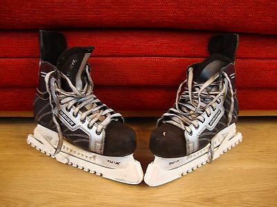 Bauer Supreme 990 Youths Ice Hockey Skates very used condition UK 4.5