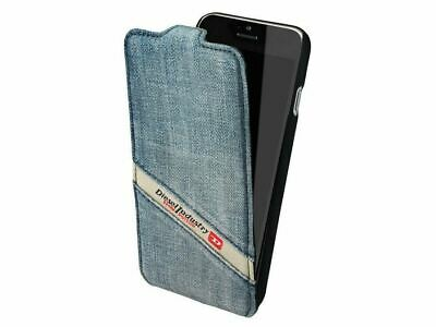 Genuine Original Diesel Scissor Denim Case for iPhone 6 Flip Case – Indigo