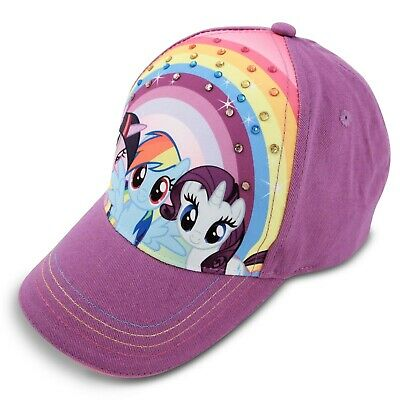 Hasbro My Little Pony Character Cotton Baseball Cap, Little Girls, Age 4-7