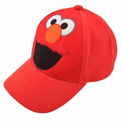 Sesame Street Elmo Character Cotton Baseball Cap, Toddler Boys, Age 2-4