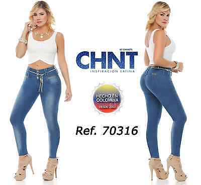 CHNT Authentic Colombian Push Up Jeans, Jeans Colombianos, Jeans Levanta Cola