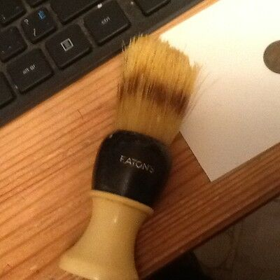 Vintage EATONS Shaving Brush Bristle Made in Canada Used  lot 30A