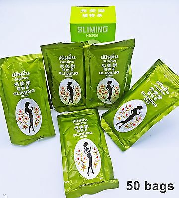 50 Bags German Herb Slimming Tea, Weight Loss Tea - Natural