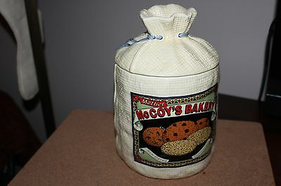 Mother McCoy's Bakery New Haven Connecticut Cookie Jar H&HD 1988 Hearth & Home